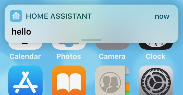 Home Assistant – notifications on iOS – Thingsmatic